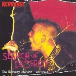 Cd Vários - Search & Destroy The History Of Punk Vol. 1