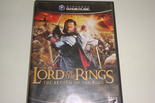 The Lord Of The Rings Original Game Cube!!!!!!!! Cx2-14