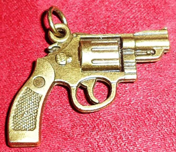 Revolver .357 Dije 3 Cm Largo Material Zamak