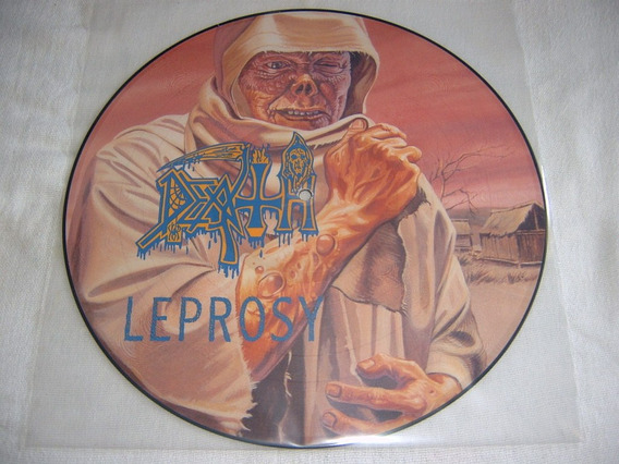 Lp Death - Leprosy 1st Press Picture 88 Uk Death Thrash