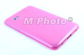 Bag Case Capa Samsung Galaxy Tab 2 P3100 P3110 Tpu Rosa