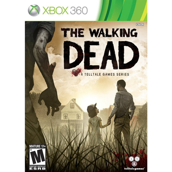 Jogo Ntsc The Walking Dead Completo Lacrado Para Xbox 360