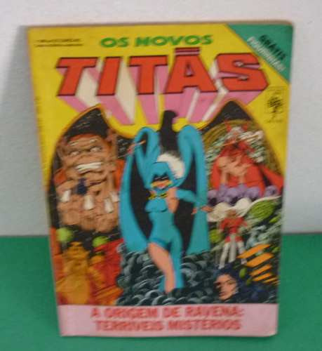 Os Novos Titãs Nº 2 28/05/1986 Editora Abril (usada).