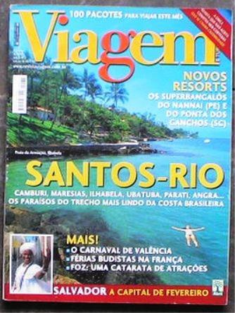 Viagem E Turismo 76 Santos Rio De Janeiro Valência França