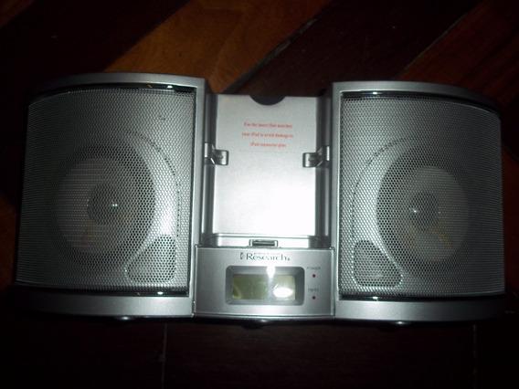 Caixa De Som Para iPod, Rádio Fm/am, Alarme