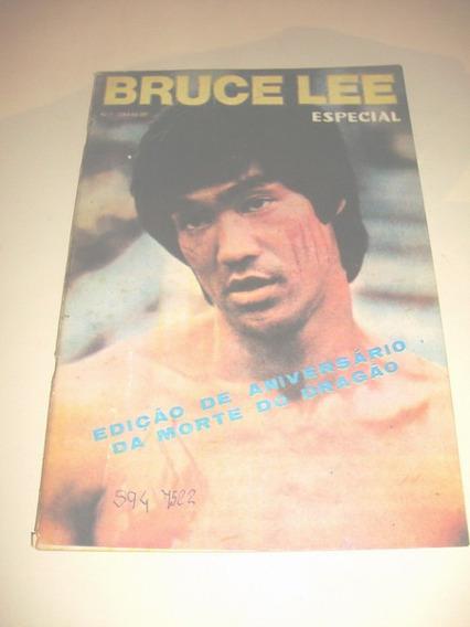 Revista Bruce Lee Especial. Edição De Aniverssário Ver Foto!