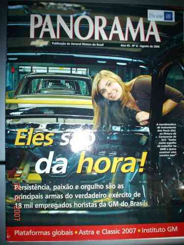Revista Panorama Gm Astra Classic General Motors Chevrolet