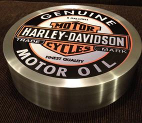 Luminoso Harley Davidson Bar Acessorio Decoração Decorluz