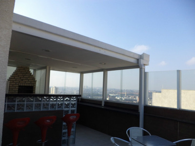 Cobertura Duplex Prédio Alto Segurança 24hs Lazer Completo!!