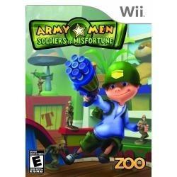 Army Men: Soldiers Of Misfortune Wii Americano Original