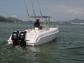 Casco Lancha Sea Crest Fishing 245 Zero A Faturar 2019