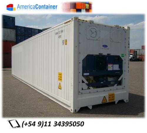 Reefers/contenedores Marítimos Refrigerados 40 Camaras.