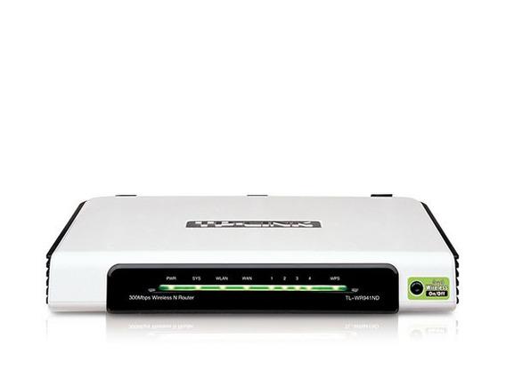 C/ Defeito Roteador Wifi Tp-link Tl-wr941nd Para Peça