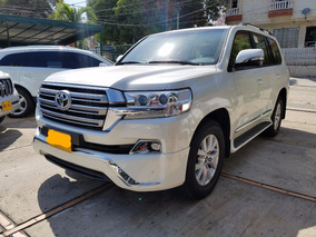 2016 Toyota Lc200 Motor 4.5 Blanco 5 Puertas Arabe