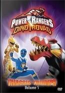 Dvd Power Rangers Dinotrovão - Triunfo Triássico - Volume 5