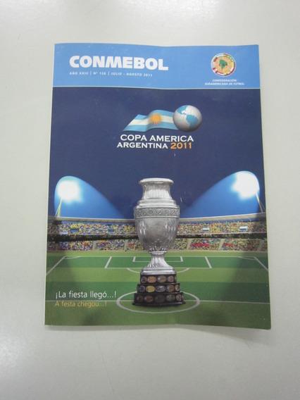 Revista Da Conmebol Nº 126 - Santos Campeão Da Libertadores