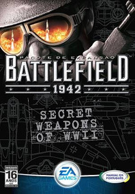 * Game Pc Battlefield 1942 Secret Weapons Of Wwii Cdrom