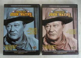 Dvd John Wayne Vol 4 & 6 - Cinco Filmes Perfeitos