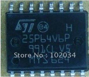 Ci Smd 25p64v6p Ic Flash 64mbit 50mhz - Novo Original