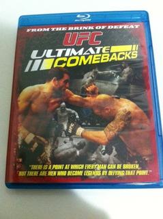 Ufc Blu Ray Ultimate Comebacks Zerado!!