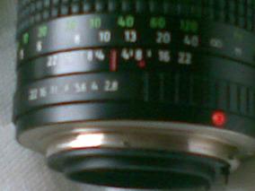 Vdo Tele-objetiva Pratikar 2,8 / 135mm - Pentacon... !!!