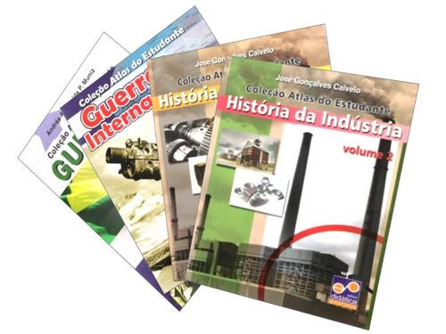 Atlas Do Estudante  - 4 Volumes História Guerras / Industria