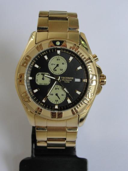 Relógio Technos Masculino Skymaster Multifunções - Wr 100