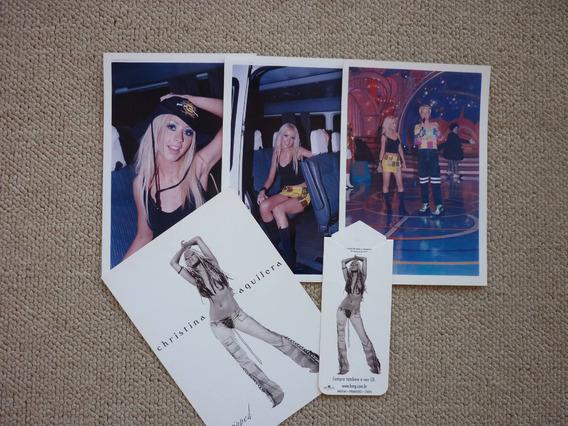 Christina Aguilera - Fotos Xuxa Park