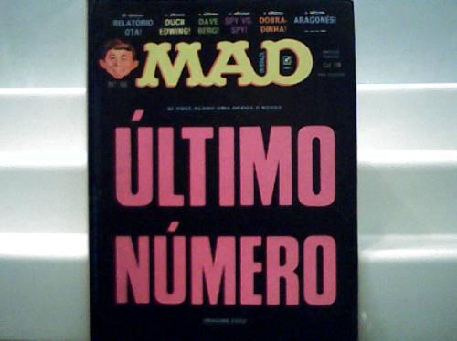 Revista Mad Ultimo Número Nº 68 49 Paginas Novembro 1990