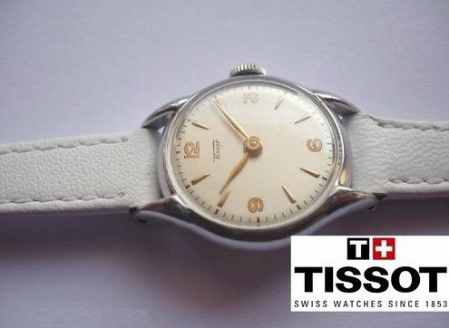 Tissot-swiss Made - Feminino - Vintage De 1952