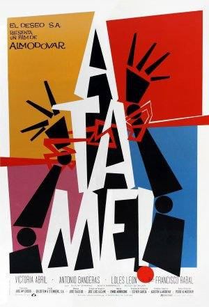Poster Cartaz Ata-me! - 30x42cm