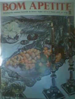 Revista Bom Apetite - Nº 82 - 1968 Abril Cultural