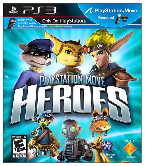 Playstation Move Heroes - [ps3] Lacrado