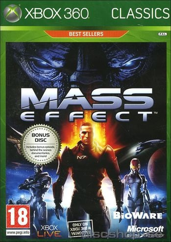 Game Mass Effect Classics - Xbox 360 (novo Lacrado)