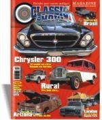 Revista Classic Show Ed. 40, Landau, Rural, Chrysler 300