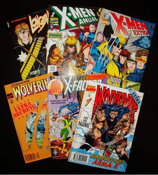 Revistas X-men - Editora Abril - Para Colecionadores!