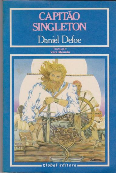 Capitão Singleton - Daniel Defoe / Livro Novo E Sem Uso