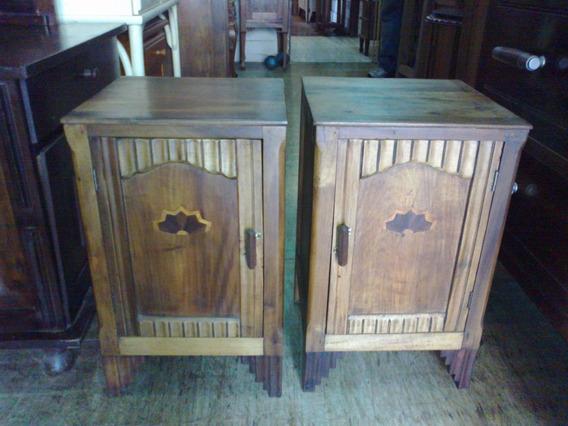 Criado Mudo Em Imbuia Maciça Muito Antigos (only Wood)