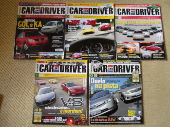 Revista Car And Driver + Brindes