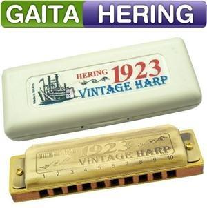 Gaita Hering Vintage Harp 1923 (mi) Harmonica C/ Case Estojo