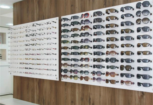 b67d642e4 Expositor De Óculos Painel Em Acrílico Para Ótica Novos no Mercado ...