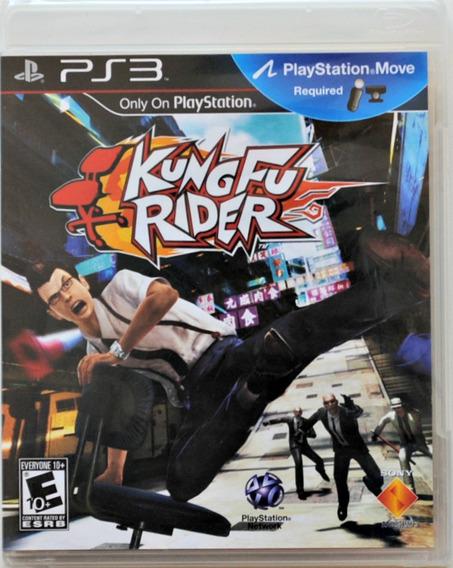 Kung Fu Rider Original Compatível C/playstation Move