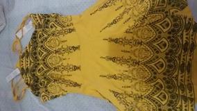 Vestido Amarelo Lindo