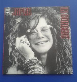 Disco Vinilo Lp Janis Joplin - In Concert Disco Doble Usa 72
