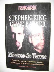 Fangoria Mestres Do Terror: Stephen King & Clive Barker