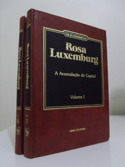 Livro - Os Economistas - Rosa Luxembourg - 2 Volumes