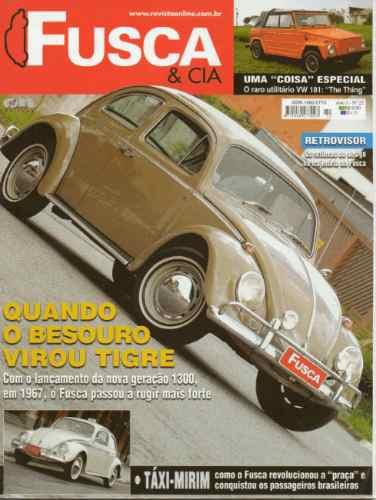 Fusca & Cia Nº22 Sedan 1300 1967 Tigre Taxi Vw 181 The Thing