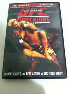 Dvd Best Of Ufc Fight Night Zerado Mma Jiu Jitsu Lutas