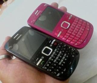 Nokia C3 -original Wi-fi Querty Estado De Novo Preto Ou Rosa