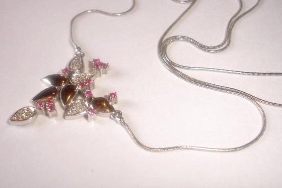 Ivi1388 = Colar O.branco 18k Vivara ! Diamantes!!!